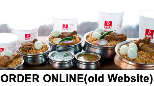 ORDER ONLINE (Older Website)